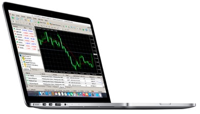 x trading platform MT4 for Mac OS