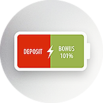 Get bonus for each top-up of the account!