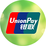 Fund your account with Yuans via China UnionPay!
