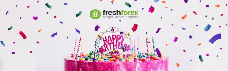 Today FreshForex turns 14!