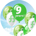 """FreshForex""  turned 9 years! We give presents!"